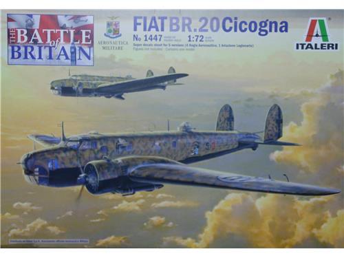 Fiat BR.20 Cicogna - art. 1447 - Italeri 1/72