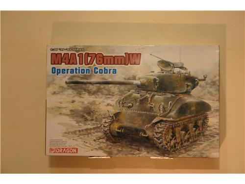 M4A1 (76 mm)W - modelli Dragon