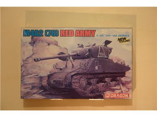 M4A2 (76) Red Army - modelli Dragon