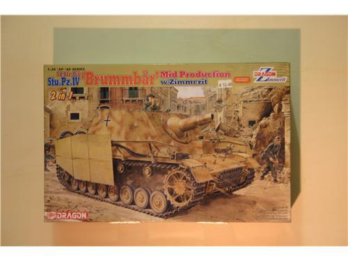 Sd. Kfz. 166 Stu.Pz.IV Brummbar Mid prod. - modelli Dragon