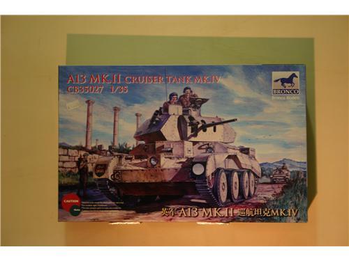 Art. CB 35027 - A13 MK.II Cruiser tank MK.IV - modelli Bronco Models