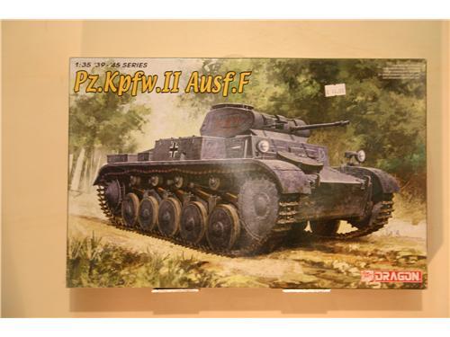 Pz.Kpfw.II Ausf. F - modelli Dragon