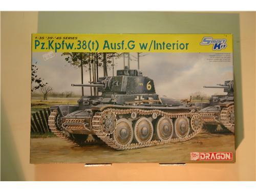 Pz.kpfw.38(t) Ausf. G w/interior - modelli Dragon