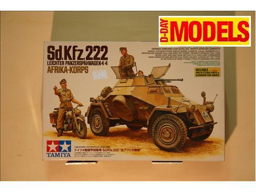 Sd.Kfz.222 - modelli Tamiya