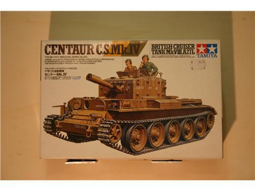 Centaur C.S.Mk.IV - modelli Tamiya