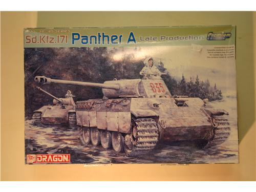 Sd.Kfz.171 Panther A late production - modelli Dragon