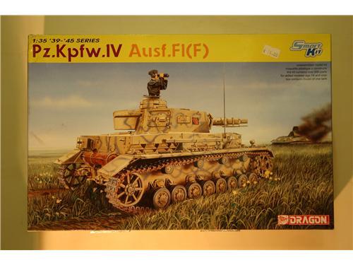 Pz.Kpfw.IV Ausf.F1(F) - modelli Dragon