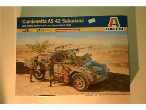 Camionetta AS 42 Sahariana - modelli Italeri