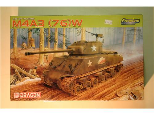 M4A3 (76)W - modelli Dragon