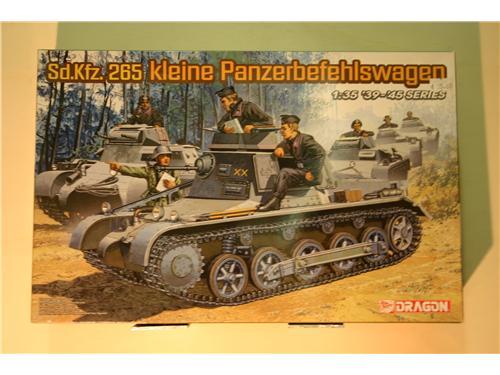 Sd.Kfz.265 Kleine Panzerbefehlswagen - modelli Dragon