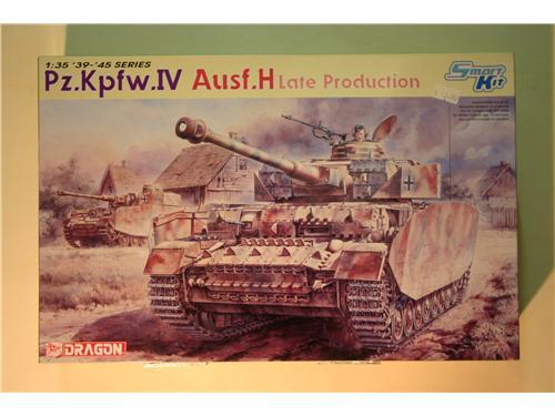 Pz.Kpfw.IV Ausf.H Late prod. - modelli Dragon