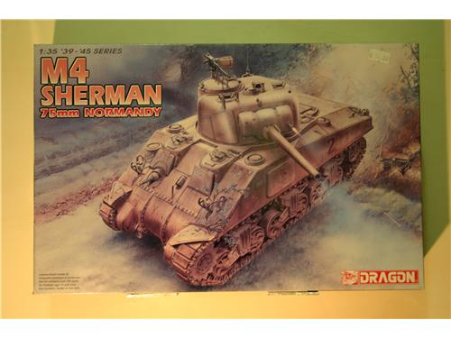 M4 Sherman 75mm normandy - modelli Dragon