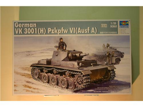VK 3001(H) Pzkpfw IV (Ausf. A) - modelli Trumpeter