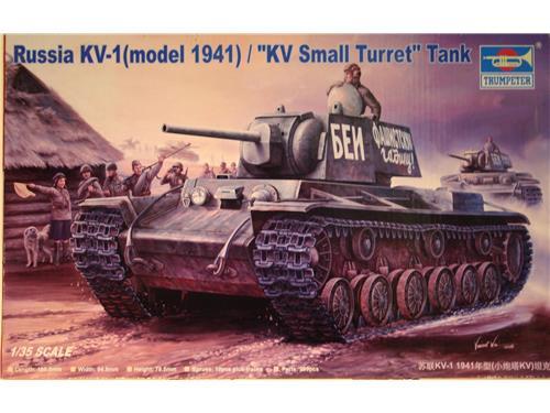 KV-1 model 1941 Small turret tank - art. 00356 - Trumpeter 1/35