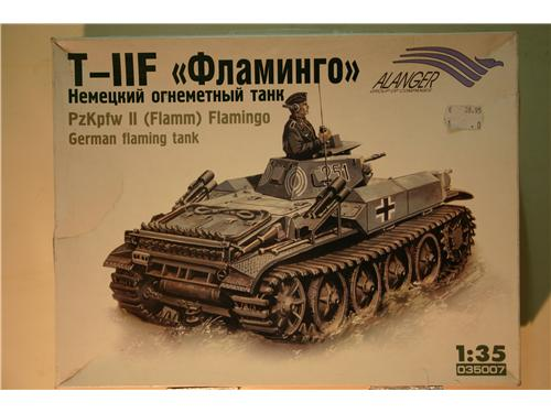 Carro armato tedesco - Pz:Kpfw II (Flamm) Flamigo - modelli Alanger