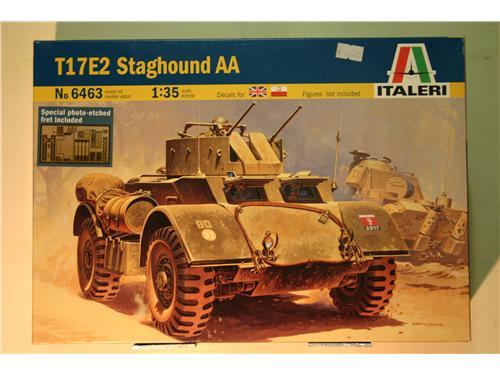 T17E2 Staghound AA - modelli Italeri