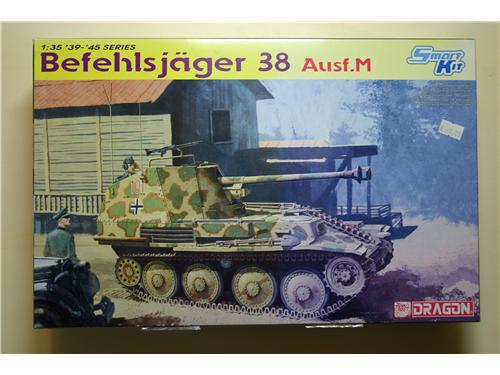 Befehlsjager 38 Ausf.M - modelli Dragon