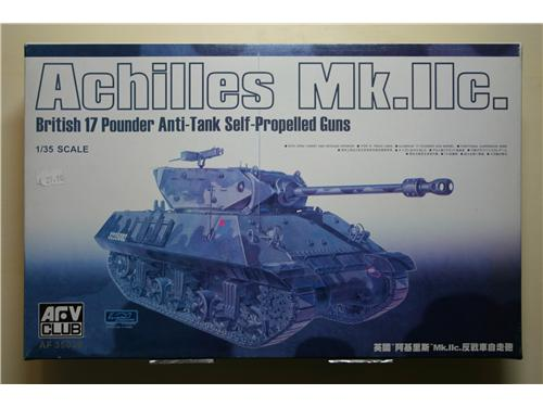 Achilles MK.IIc. British 17 Pounder Anti-Tank Self-Propelled guns - modelli AFV