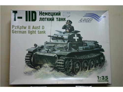 Carro armato tedesco - Pz.Kpfw II Ausf. D - modelli Alanger