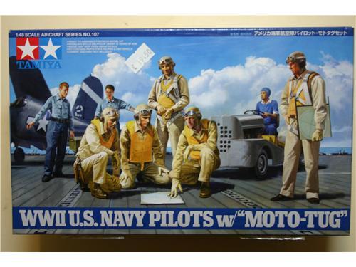 WWII U.S. Navy Pilots W/