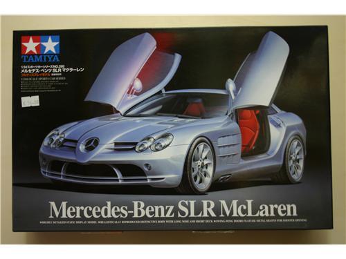 Mercedes-Benz SRL McLaren - modelli Tamiya