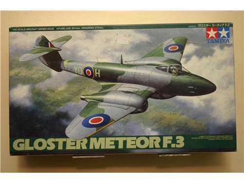 Gloster Meteor - modelli Tamiya