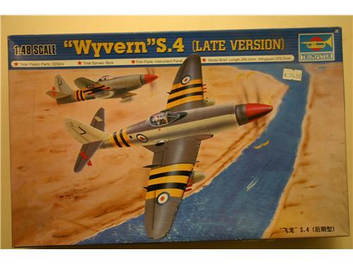 Wyvern S.4  Late version - modelli Trumpeter
