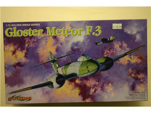 Gloster Meteor F.3 - modelli Dragon