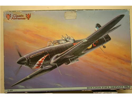 Boulton-Paul Defiant Mk.I  - modelli Classic Airframes