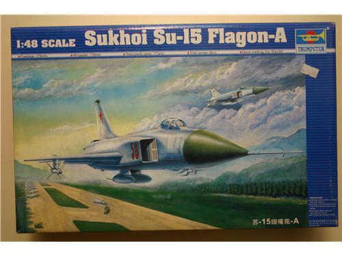 Sukhoi SU-15 Flagon-A - modelli Trumpeter
