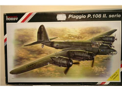 Piaggio P.108 II.serie - modelli Special Hobby