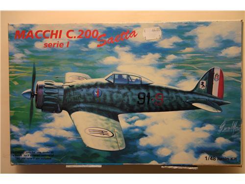 Macchi C.200 Saetta serie 1  - modelli Astrokit