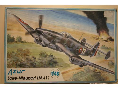 Loire-Nieuport LN.411 - modelli Azur