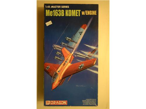 Me163B Komet w/ENGINE master series - modelli Dragon