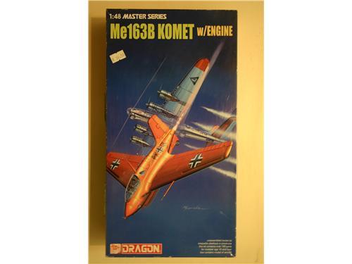 Me163B Komet w/ENGINE master series - modelli Dragon