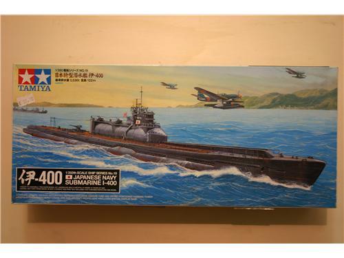 Japanese navy submarine I-400 - modelli Tamiya