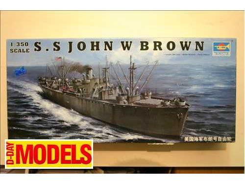 S.S. John W Brown - modelli Trumpeter