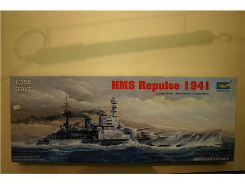 HMS Repulse 1941 - modelli Trumpeter