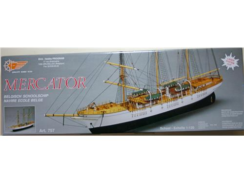 Mercator Belgich Schoolschip - art. 757 -Mantua Model 1/120