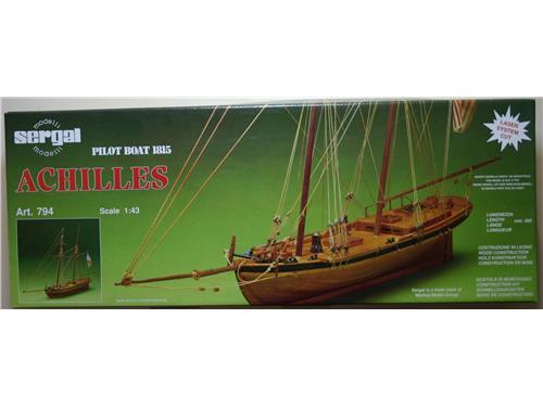 Achilles pilot boat 1815 - art. 794 modelli Sergal 1/43