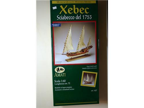 Xebec Sciabecco del 1753 - art. 1427 - Amati kit montaggio legno 1/60
