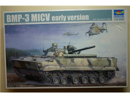 BMP-3 MICV early version - modelli Trumpeter