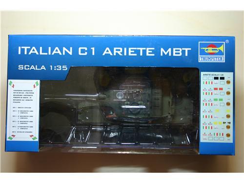Italian C1 Ariete - modelli Trumpeter