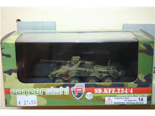 SD.KFZ.234/4 - modelli Panzerstahl