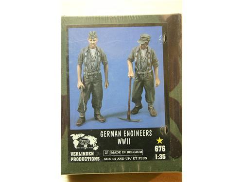 German engineers WWII - modelli Verlinden