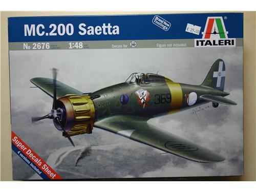 MC.200 Saetta - modelli Italeri