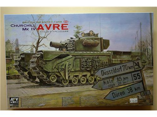 British infantry tank Churchill MK IV Avre - modelli AFV
