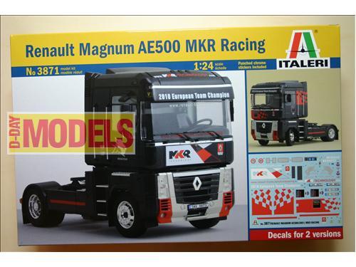 Renault Magnum AE500 MKR Racing - Kit montaggio auto  Italeri scala 1/24