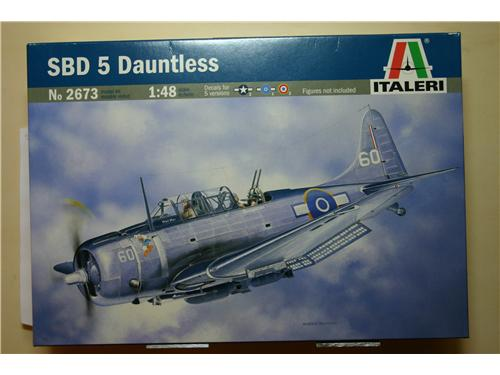 SBD 5 Dauntless - modelli Italeri