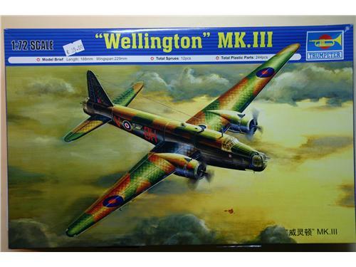 Wellington MK.III - modelli Trumpeter